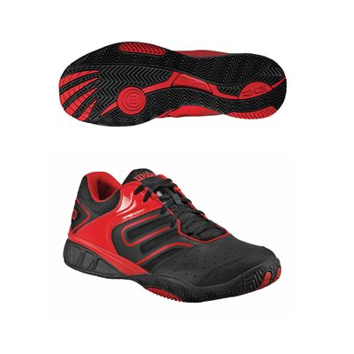 Wilson Tour Construkt Mens Tennis Shoes Red