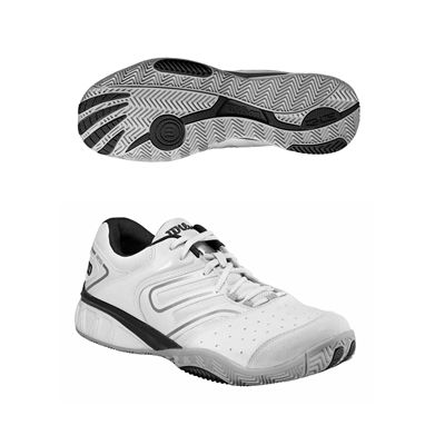 Wilson Tour Construkt Mens Tennis Shoes Silver