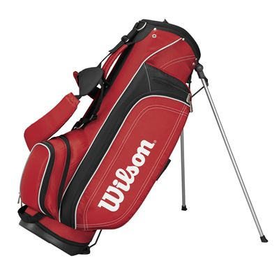 Wilson Ultra Carry Stand Bag - Red