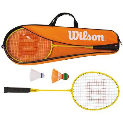 Wilson 2 Player Junior Badminton Set