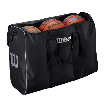 Wilson 6 Ball Travel Bag - Open