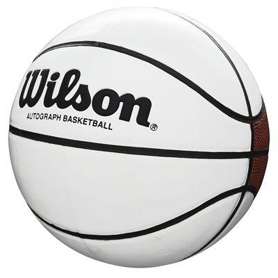 Wilson Autograph Mini Basketbal - Angled
