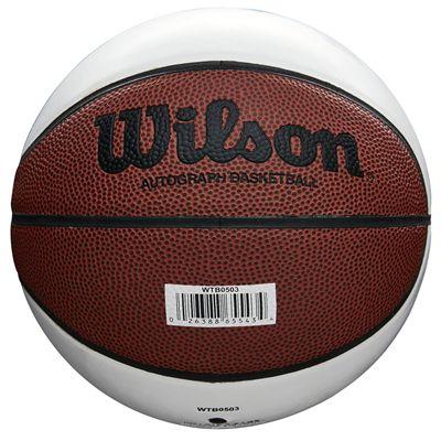 Wilson Autograph Mini Basketbal - Back