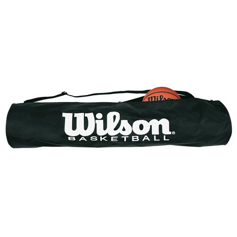 Wilson Basketball Tube Bag Up To 5 Ball Storage