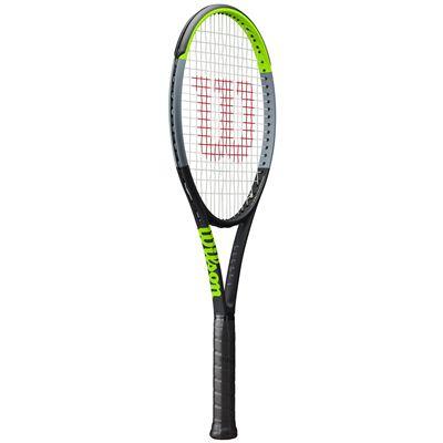 Wilson Blade 100UL V7.0 Tennis Racket - Angled