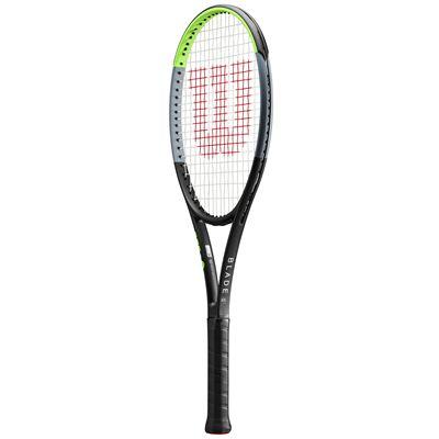 Wilson Blade 101L V7.0 Tennis Racket - Angled