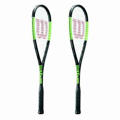 Wilson Blade Countervail Squash Racket Double Pack