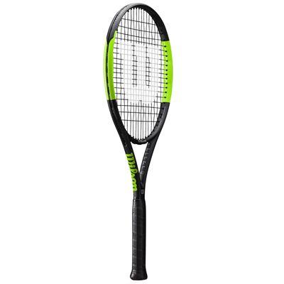 Wilson Blade Feel 100 Tennis Racket - Angled