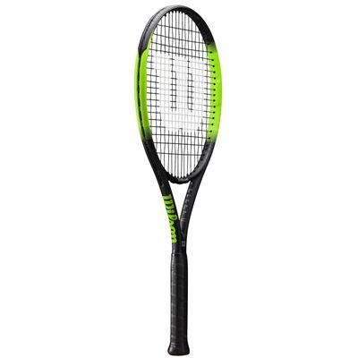 Wilson Blade Feel 105 Tennis Racket - Angled