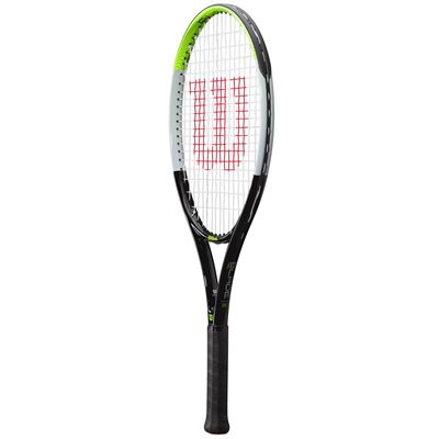 Wilson Blade Feel 25 Junior Tennis Racket SS21 - Angle