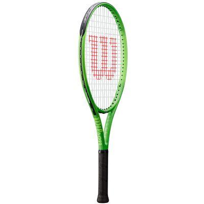 Wilson Blade Feel 25 Junior Tennis Racket - Angled