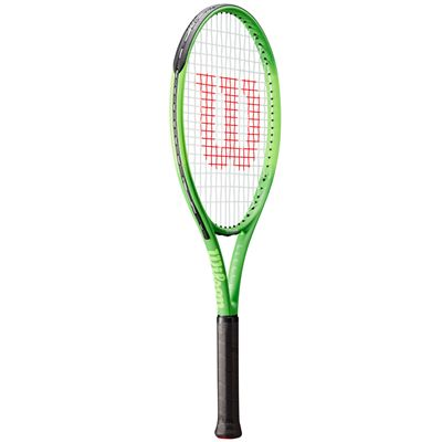 Wilson Blade Feel 26 Junior Tennis Racket - Angled