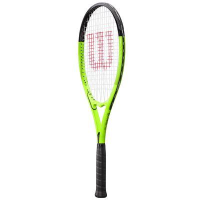 Wilson Blade Feel XL 106 Tennis Racket - Angled