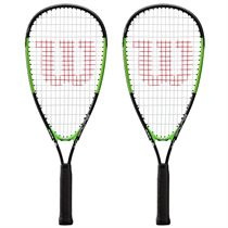 Wilson Blade Junior Squash Racket Double Pack