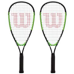 Wilson Blade Junior Squash Racket Double Pack