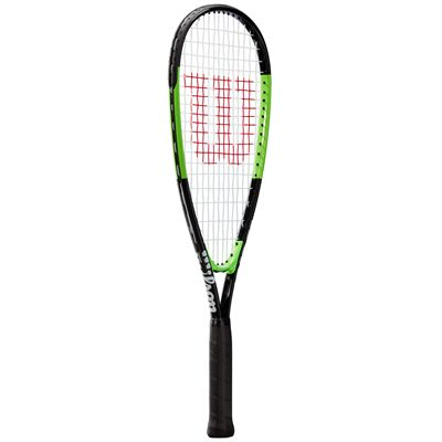 Wilson Blade Junior Squash Racket - Slant