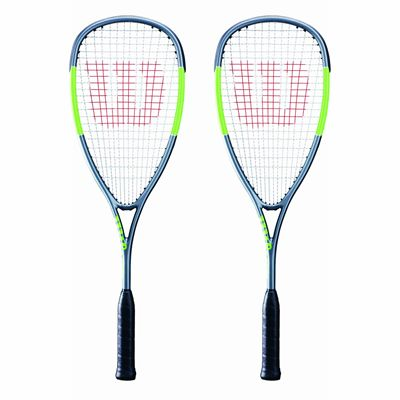 Wilson Blade Light Squash Racket Double Pack