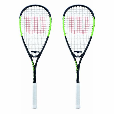 Wilson Blade Team Squash Racket Double PackWilson Blade Team Squash Racket Double Pack