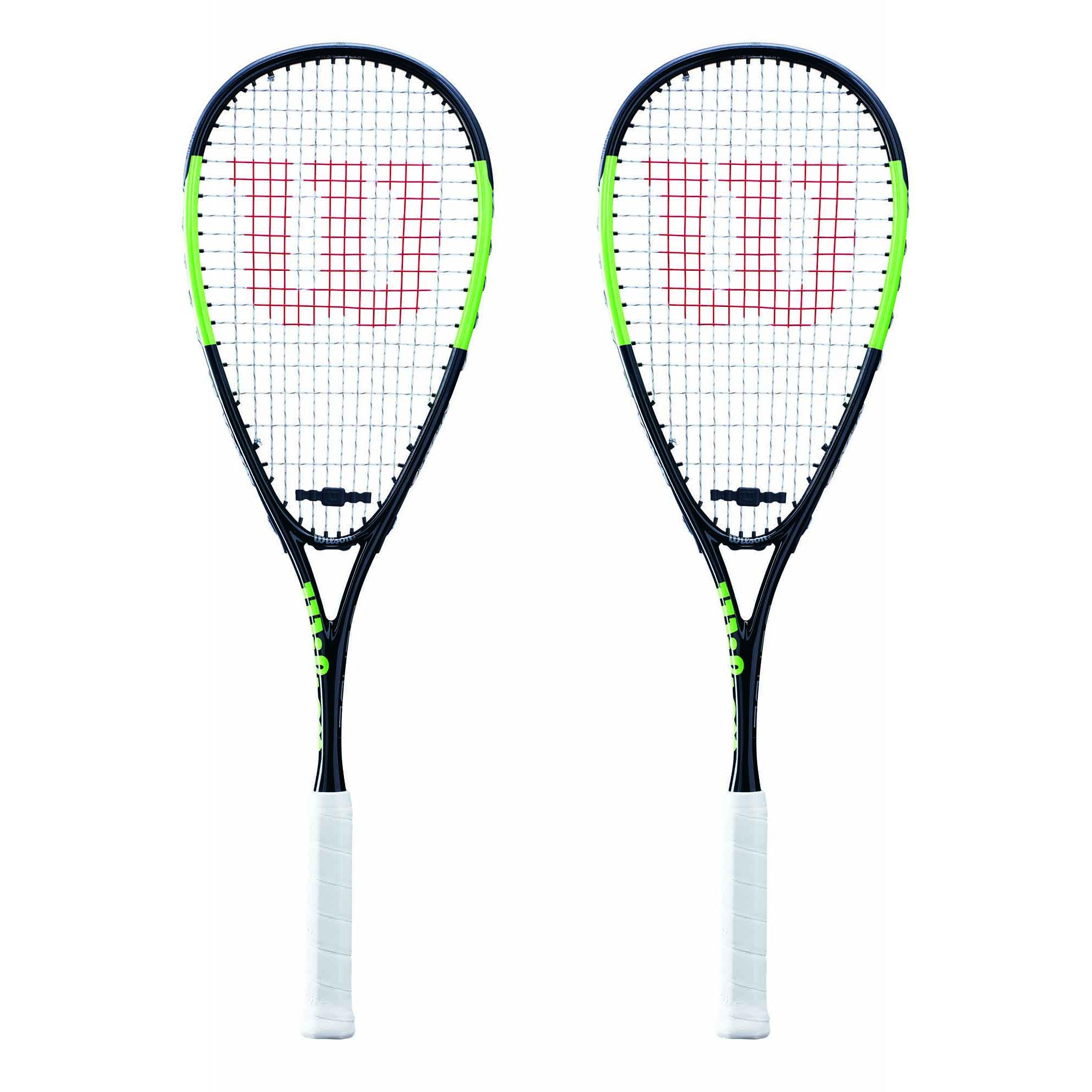 Wilson Blade Team Squash Racket Double Pack