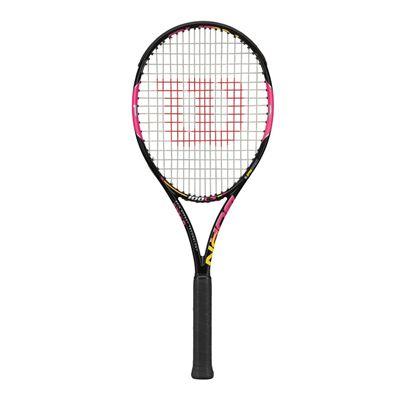 Wilson Burn 100 LS Pink Tennis Racket