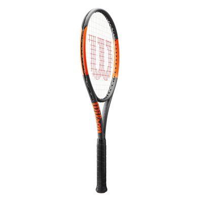 Wilson Burn 100 LS Tennis Racket-side
