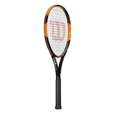 Wilson Burn 100 LS Tennis Racket - side