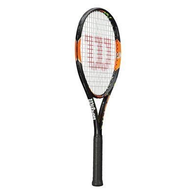 Wilson Burn 100 S Tennis Racket - Side