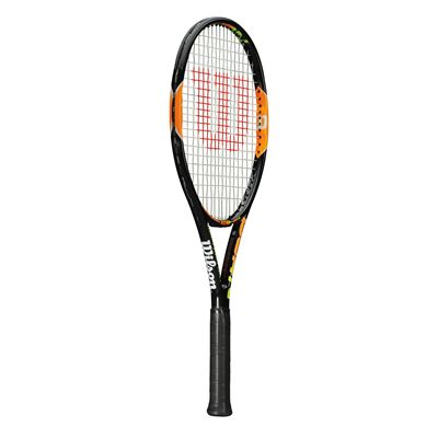 Wilson Burn 100 Team Tennis Racket - Side