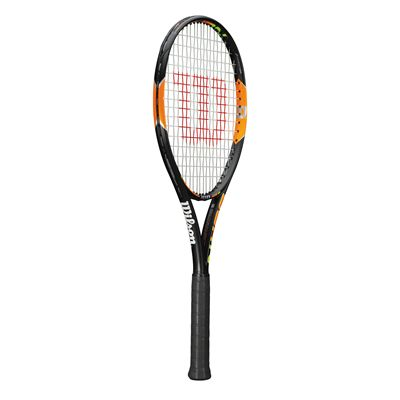 Wilson Burn 100 Tennis Racket - side