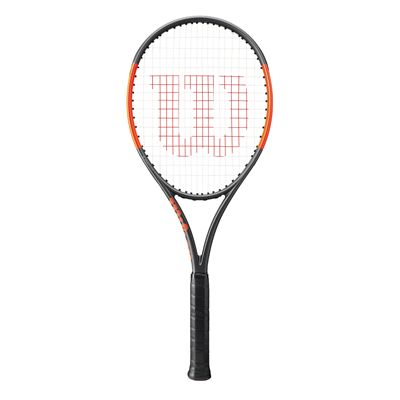 Wilson Burn 100 ULS Tennis Racket-front