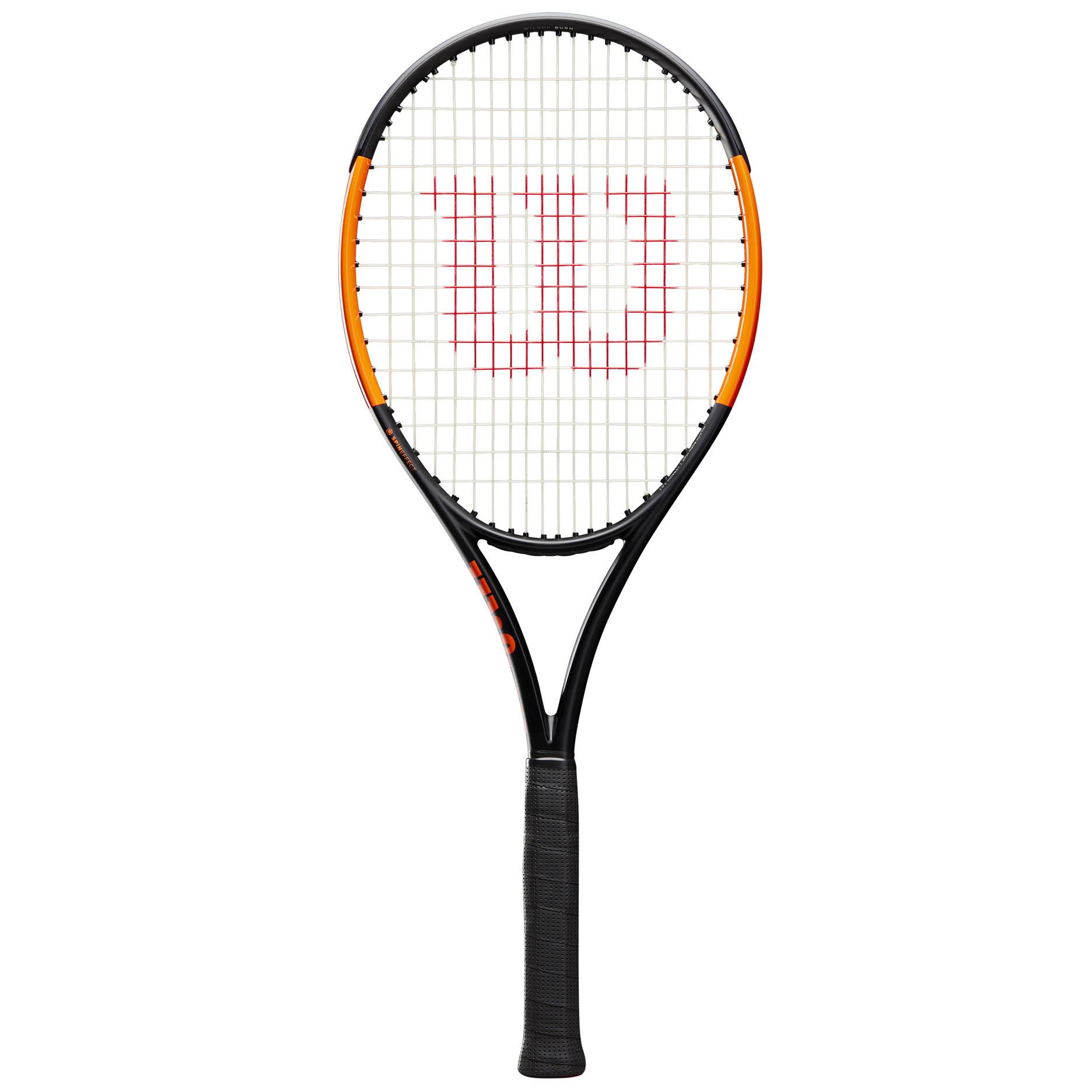 Wilson Burn 100 ULS Tennis Racket - Grip 3