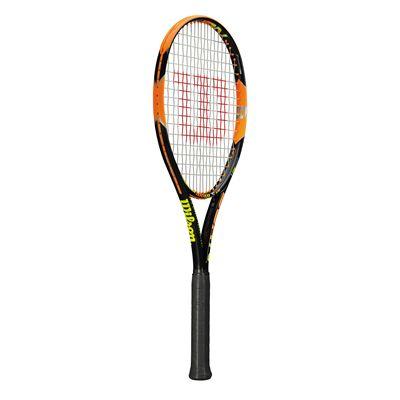 Wilson Burn 100 ULS Tennis Racket - Side