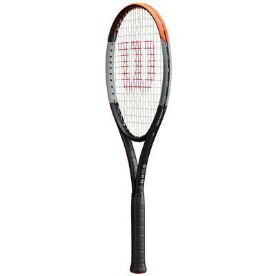 Wilson Burn 100LS v4 Tennis Racket - Angle