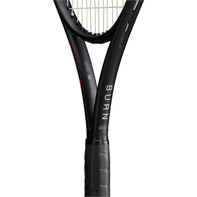 Wilson Burn 100LS v4 Tennis Racket - Zoom