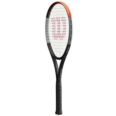 Wilson Burn 100ULS v4 Tennis Racket - Angle