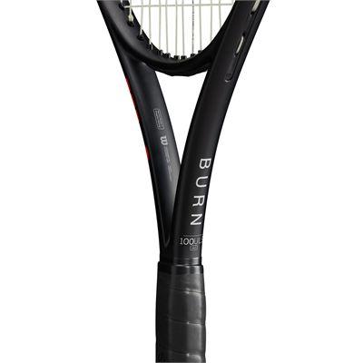 Wilson Burn 100ULS v4 Tennis Racket - Zoom