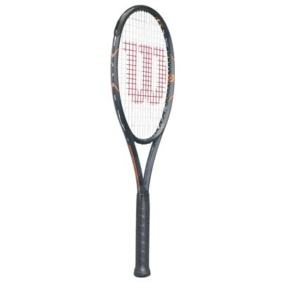 Wilson Burn FST 95 Tennis Racket - Side