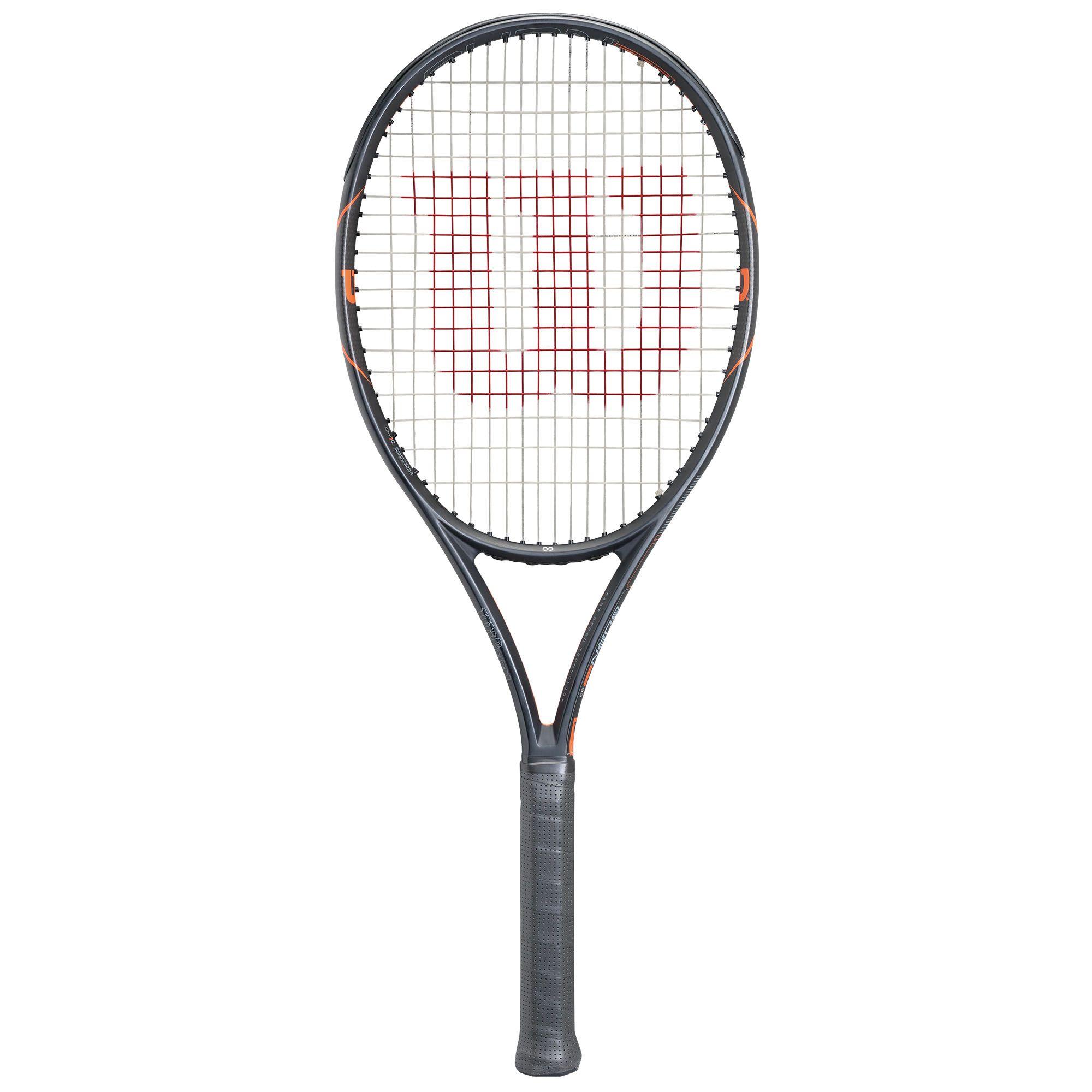 Wilson Burn Fst 99 Tennis Racket Sweatband Com