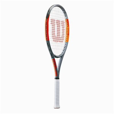 Wilson Burn Team 100 Tennis Racket - Side
