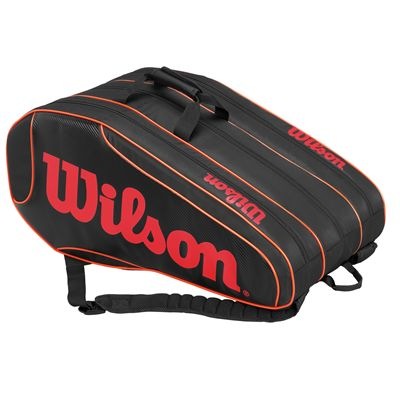 Wilson Burn Team 12 Racket Bag - Side