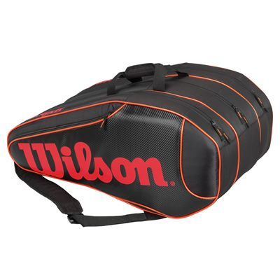 Wilson Burn Team 12 Racket Bag