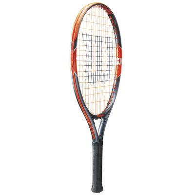Wilson Burn Team 21 Junior Tennis Racket - Side