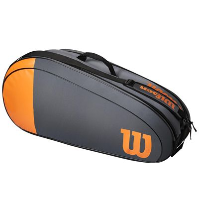 Wilson Burn Team 6 Racket Bag SS21 - Side