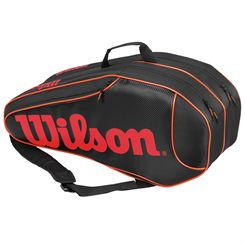 Wilson Burn Team 6 Racket Bag