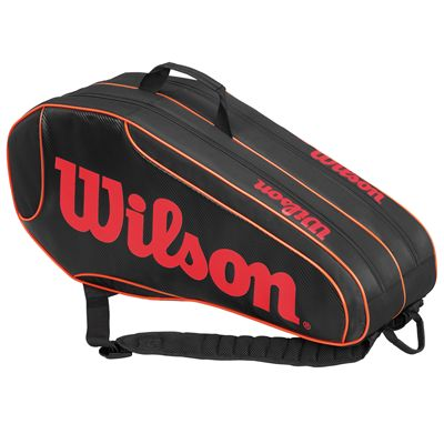Wilson Burn Team 6 Racket Bag - Side
