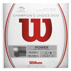 Wilson Champions Choice Hybrid Tennis String Set