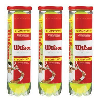 Wilson Championship Tennis Balls - 1 Doz