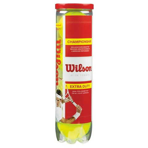 Wilson Championship Tennis Balls - Tube of 4