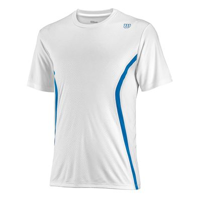 Wilson Claim Victory Crew Mens T-shirt