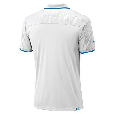 Wilson Claim Victory Mens Polo Shirt - Back View